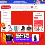 US $7 off US $50, US $9.36 off US $78.04, US $18.73 off US $156.09, US $39.02 off US $312.18 Spend + More @ AliExpress