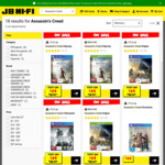 [PS4, XB1] Assassin's Creed Origins $29, Assassin's Creed Odyssey $29 @ JB Hi-Fi