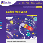 Free - Starlight Colouring-in-Book Download @ Virgin Australia