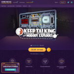 [Steam] Keep Talking and Nobody Explodes $4.49USD (~ $7.08 AUD) - Chrono.gg (Daily Deal)