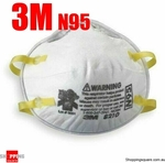 3M N95 (P2) Respirator Mask 2 for $15.9 ($7.95 each) + FREE Delivery @ Shopping Square