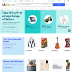 eBay $5 off Your Purchase of $5 or More