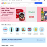 $1 Final Value Fees on The Next 5 Items You List and Sell @ eBay AU