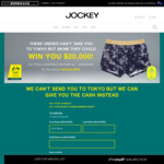 Win a $20k Prize by Purchasing Any Jockey Full-Priced Item