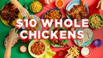 $10 Flame Grilled Whole Chickens @ Oporto