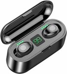 Jollyfit Wireless Earbuds + Large Capacity Charging Box $23.99 (Was $29.99) 20% off + Delivery ($0 with Prime/ $39+) @ Amazon AU
