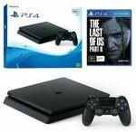[eBay Plus] PlayStation 4 Slim 500GB Black Console + The Last of Us Part 2 $385.01 @ The Gamesmen eBay