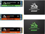 """[eBay Plus] Seagate 1TB Barracuda 120 2.5"""" SATA SSD $159.20, Barracuda 510 1TB M.2 Nvme SSD $279.20 Del @ GG-Tech 365 eBay"""