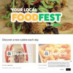 30% off Participating Chicken Restaurants - Local Food Fest ($20 Max Discount) @ Uber Eats