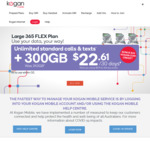 Get a Bonus 30 Days / 20GB Kogan Mobile Prepaid Voucher with a Purchase of any Mobile Phone @ Kogan