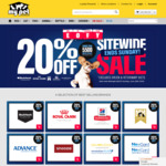 20% off Sitewide My Pet Warehouse + 20% Upsized Cashback (Uncapped, 4-6pm AEST) @ ShopBack