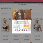 Lingerie Flash Sale: EOFY Sale up to 40% off + Extra 10% off Sale (Free Delivery over $45) @ NEXXT TO SKIN