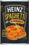 Heinz Spaghetti and Sausages 420g $1.10 (Min Qty 5) + Delivery ($0 with Prime/ $39 Spend) @ Amazon AU