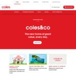 $10 off 2nd Shop/ $15 off 3rd Shop/ $20 off 4th Shop (Minimum Spend $130) @ Coles Online