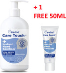 Careline Care Touch Hand Sanitisers 500ml + 1 Bonus 50ml $6.90 + Shipping (Free Shipping over $50) @ Bio Vita Direct