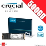 Crucial P1 SSD M.2  500GB $72.95, 1TB $132.95 + Delivery @ Shopping Square
