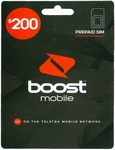 Boost Mobile $200 SIM Starter Pack (12 Months Expiry, 85GB Data) + Free $40 Coles/Myer Gift Card for $200 Delivered @ CELLPOINT