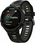 Garmin Forerunner 735XT GPS Multisport Watch Black / Grey $299.00 at rebel