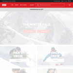 40% off + Extra 15% off Winter Sale Styles* (Free Shipping with Minimum $100 Order) @ Helly Hansen