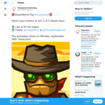 Win 1 of 5 Steam Codes for SteamWorld Dig Worth $14.50 from Thunderful Publishing