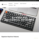 10% off Mechanical Keyboards @ Keychron