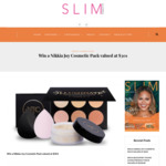 Win a Nikkia Joy Cosmetic Pack Valued at $301 from Slim Magazine