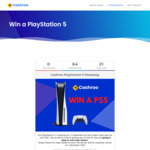 Win a PlayStation 5 Console Worth $749 from Cashroo