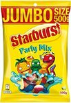 Starburst Jumbo Size 500g Snakes or Party Mix $2.85 ($2.57 Sub & Save) + Delivery ($0 with Prime/ $39 Spend) @ Amazon AU