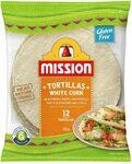 Mission White Corn Tortillas $1.90 + Delivery ($0 with Prime/ $39 Spend) @ Amazon AU