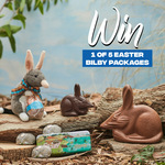 Win 1 of 5 Easter Bilby Prize Packs Worth $70 from Haigh's