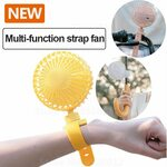 Mini Stroller Fan with Strap 2000mAh US$11.55 (A$15.11, US$4 off) @ Xiao_mi Global Store via AliExpress