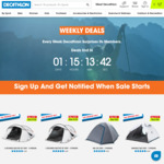 50% off All 1/2/3-Person Camping Tents: from $40 + Shipping or Free Pick up at Decathlon
