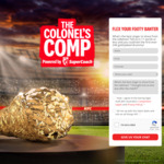 Win a 1.5kg Sterling Silver 24-Carat Gold Plated Drumstick and/or a Share of Onesie/Voucher Prizes from KFC