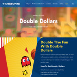Double Credits on $50 or $100 Loads @ Timezone