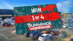 Win 1 of 4 $500 Bunnings Vouchers from Nine Network