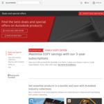 15% off Autodesk 2022 Software: Autocad $2,504 1-Year, $6,758 3-Year   Autocad LT $553 1-Year, $1,492 3-Year @ AutoDesk AU