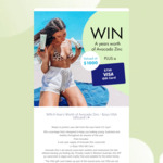 Win a $750 VISA Gift Card & a Year's Supply of Sunscreen from Avocado Zinc