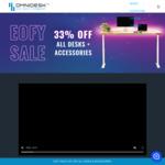 33% off All Desks & Accessories (OMNIDESK ZERO $403, OMNIDESK PRO 2020 $603, Wildwood Collection $871 Delivered) @ OMNIDESK