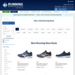 Asics Kayano 27 $169.95/Brooks Launch $127.46|Glycerin 18 $160.27/Mizuno fr. $84.95/NB Zante Sol $65.45 + more-Running Warehouse