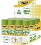 BIC ECOlutions 12 x Glue Sticks 36g, $18 (Was $35) + Post ($0 with Prime/ $39 Spend) @ Amazon AU