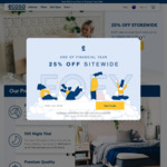 25% off Sitewide on Mattress, Beds and Pillows @ Ecosa
