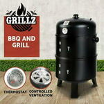 [eBay Plus] Grillz 3in1 Charcoal BBQ Grill Smoker Portable Outdoor Roaster Steel Camping $41.90 Delivered @ Ozplaza.living eBay