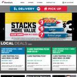 BOGOF Pizza eg. Vegan Spicy Veg Trio & a Pepperoni $8.75 @ Domino's