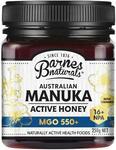 Barnes Naturals Australian Manuka Honey 250g MGO 550+ $31.99 Delivered / Pickup @ Chemist Warehouse