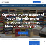 Optimize.me - Hundreds of Book Summaries (Now Free, Previously $69.99/Yr)
