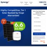 [NSW] 6.6kW Solar System (17 x 370W Astroenergy panels & 5kW SAJ Inverter) $2,999 Fully Installed  @ Synergy Solar