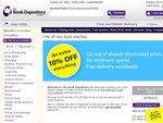 Book Depository 10% Discount Worldwide