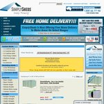 More Than 50% off ABSCO Garden Sheds - Some with Free Home Delivery in Most Metro Areas