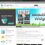 Beautiful Widgets Android App $0.99 Normally $2.69