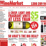 WineMarket $20 off All Wine with Code